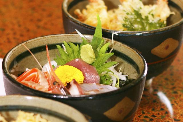 海鮮丼・天丼
